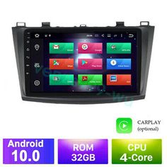 Ad Ebay Android 10 0 32g Car Dvd Radio Stereo Gps Wifi Player For