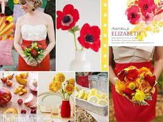Red & Yellow Wedding Palette