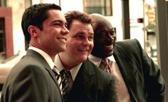 The guys from Cold Case. I love these guys: Scotty Valens, Nick Vera & Will Jeffries.