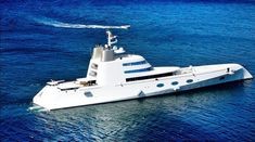 "Another Russian billionaire who enjoys sailing the sea is Andrey Melnichenko. His yacht, named ""A"" was designed by Philippe Starck"