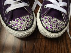 Kids Converse Shoes with Dot Rhinestone Bling. Perfect for Flower Girls, Bat-Mitzvahs, Proms, Parties, Graduations or Everyday - Edit Listing - Etsy Rhinestone Converse, Bling Converse, Bling Shoes, Prom Shoes, Toddler Girl Dress Shoes, Girls Dress Shoes, Baby Shoes, Diy Wedding Makeup, Diy Wedding Gifts