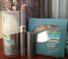FLABBY FACE OF MAKEUP: WITCH Primer, Concealer & Powder Review