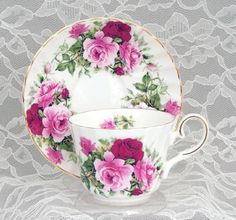 English Tea Cup Bone China Tea Cups and Saucers from England