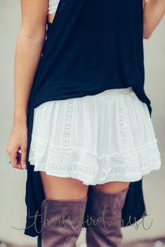 Ruffles & Lace Skirt