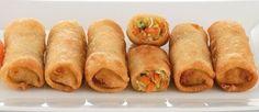Rollitos  Primavera Caseros Ver receta: http://www.mis-recetas.org/recetas/show/64701-cerdo-con-pina-y-salsa-agridulce