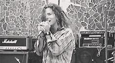 Eddie Vedder '91 gif hair | repin | most fantastic gif ever.