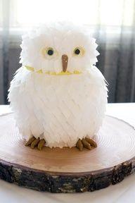 Gâteau hibou / Owl Cake