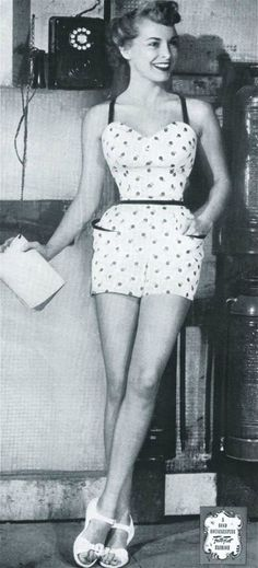 Typical 50s child...: Swoon Suit...    PS- Look at THAT waist!
