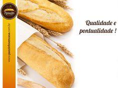 Atendimento personalizado e serviço de qualidade: Essa é a Pãozinho levando o pão francês sempre fresquinho até a sua casa! http://www.paozinhoemcasa.com.br