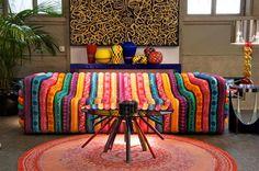 Nog meer felle kleuren in je interieur.