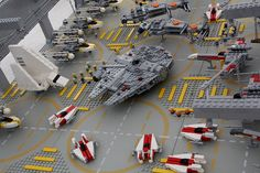 LEGO + Star Wars + miniature = awesome