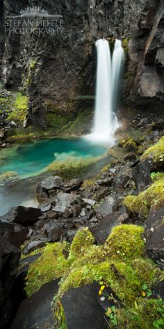 Fairypool, Water Fall,  Iceland