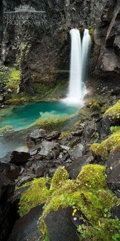 Fairypool, Water Fall,  Iceland