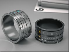 Future technology Site -  Stylish Concept ring-watch - WOW~