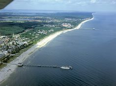 Coast of the Island of Usedom, Germany