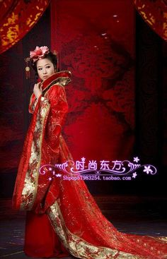 fd7b2ddf6 Aliexpress.com : Buy Fashion luxury stand collar train ikbal service costume  hanfu tang suit red from Reliable Chinese Folk Dance suppliers on Angel ...