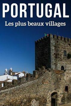 Découvrez les plus beaux villages du Portugal en photos: Monsanto, Obidos, Marvao... des maisons blanches, des murs de fortifications, des énormes rochers... de quoi allonger votre itinéraire ! | Portugal voyage | Portugal Paysage | Que voir au Portugal