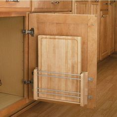 The Door-Mount Cutting Board from Rev-A-Shelf