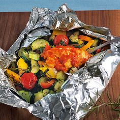 Back-Feta mit Gemüse