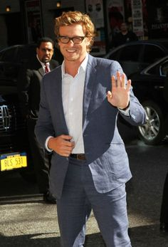 Simon Baker! He's so good at being charming.