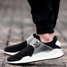 a9915644cb7b Mens Trendy Shoes Sock-Dart PU Sole Runner Sneakers Pop Fashion famous