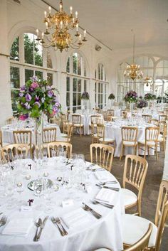 Spring at The Orangery, Holland Park - The Orangery Gallery wedding venue