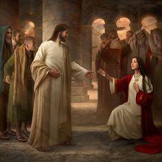 Gesù perdona la peccatrice