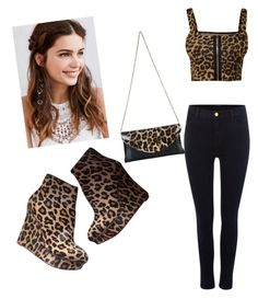 """Untitled #39"" by mexican-stylist on Polyvore featuring Charlotte Olympia, J Brand, WearAll and REGALROSE"