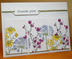 Loll's Triptych by susanbri - Cards and Paper Crafts at Splitcoaststampers