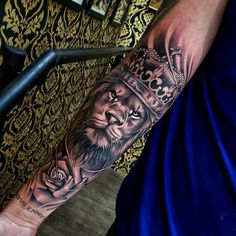 50 eye-catching lion tattoos that make you fancy ink - tattoo ideas - . - 50 eye-catching lion tattoos that make you fancy ink – tattoo ideas – # flashy - Hand Tattoos, Lion Forearm Tattoos, Lion Head Tattoos, Forarm Tattoos, Mens Lion Tattoo, Leo Tattoos, Best Sleeve Tattoos, Tattoo Sleeve Designs, Tattoo Designs Men