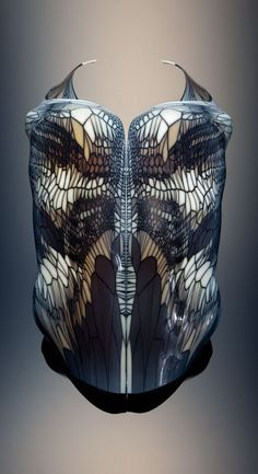 Torso Series from Imaginary Beings fashion collection by Neri Oxman