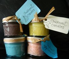 Handmade soy Candles by FLGulfcoastCandles on Etsy, $5.00