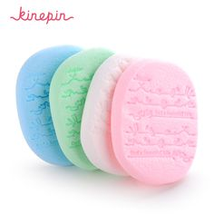 KINEPIN 2P Makeup Cleansing Sponge Facial Exfoliator Washing Puff Dead Cells Removal Peeling Skin Care Tools Clean Skin deeply