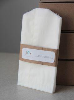 4 3/4 x 6 3/4 Glassine Bags set of 100