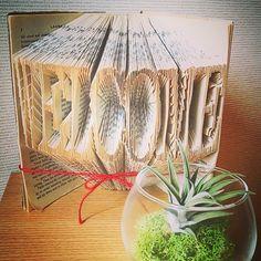 ウェルカムスペースに置きたい♡ブックアートが感動的&芸術的すぎる♡にて紹介している画像