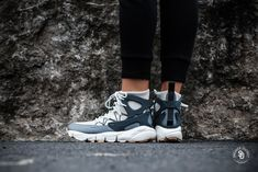 Nike Women's Air Footscape Mid Light Bone/Anthracite - AA0519-002