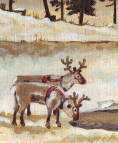 Reindeer rendieren