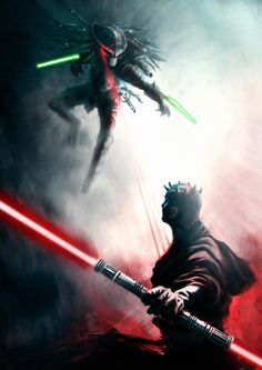 Maul Vs Predator, now this is the most awesome thing ever!