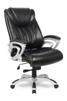 C Креслом College HLC-0505 Вы сможете по-настоящему почувствовать, что такое офисное кресло бизнес-класса.  Большая спинка, подушки по бокам на уровне поясницы, плавная регулировка высоты и механизм качания, декоративные подлокотники из экологически чистого ударопрочного пластика, прочная широкая крестовина с резиновыми накладками– всё это придает креслу элегантность и респектабельность  и обеспечивает Вам настоящий комфорт за рабочим столом.