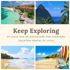 A St Lucian Tropical Holiday  Saint Lucia is considered one of the top tourist destination in the Caribbean.  St Lucia has an Adventure for everyone.  #HolidayRentalsinSaintLucia #VacationHomesinStLucia #VacationinStLucia  St Lucia is an island that has it all whether its kite flying in Vieux Fort to walking and enjoying miles of sandy beaches in Castries.  #StLuciatravelblog #StLuciaVacationBlog #CaribbeanHomeRentalsinStLucia  From pristine beaches to breath-taking Water Falls and just… St. Lucia, Saint Lucia, Kite Flying, Sandy Beaches, Caribbean, Trips, Waterfall, Walking, Tropical
