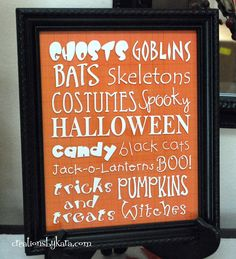 fun christmas projects with vinyl | Halloween Food Idea: Witch Brooms Halloween Subway Art, and Schooled ...