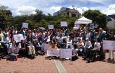 Personas con discapacidad protestaron para exigir respeto en Venezuela