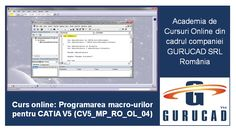 This CATIA Online Training helps students, engineers and technicians to become specialists in writing macros for CATIA Macros, Macro Program, Training Academy, In Writing, Academia, Online Courses, Programming, Engineering, Student
