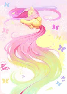 My Little Pony: Friendship is Magic // Fluttershy by aruurara on deviantART