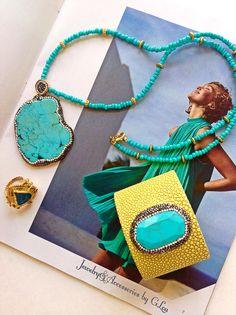 Beautiful Combo Set.Turkish Jewelry.Live Turquoise.Snake Cuff.Hand Made Jewelry.Summer Collection 2016. #SummerCollection#SnakeSkinCuff#JewelryforSale#SummerColors#LoveTurquoise#TurkishJewelry#TurkishDesign#FashionJewelry#LoveYellow#CandyCuff#BeautifulNecklace#Marquesite#GorgeousRing#ByGLouJewelry#