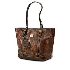 Disney Sketch Leather Shopper Bag by Dooney & Bourke | I seriously wish $400 would drop into my lap so I could have this.