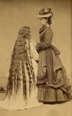 Long Hair - Victorian opposites