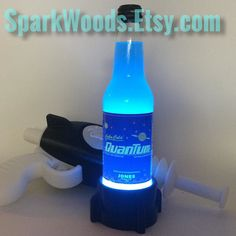 Light Up The New DLC With A Lamp Base Made For Your Nuka Cola Quantum.