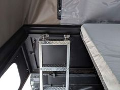 The hottest trend in the car-camping and overland world right now is the lightweight pop-top truck camper. It combines a truck topper shell and a rooftop tent. These go-anywhere truck campers are ready for adventure! Truck Bed Camping, Truck Tent, Off Road Camping, Pop Up Truck Campers, Pickup Camper, Offroad Camper, Top Tents, Roof Top Tent, Truck Toppers