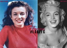 Marilyn Monroe Plastic Surgery Before and After...NO WAY!
